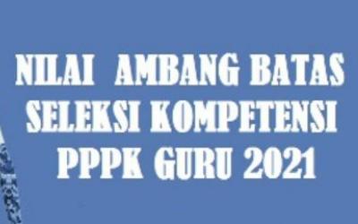 KEPUTUSAN MENPAN RB NOMOR 1127 TAHUN 2021 TENTANG NILAI AMBANG BATAS SELEKSI KOMPETENSI PPPK GURU 2021