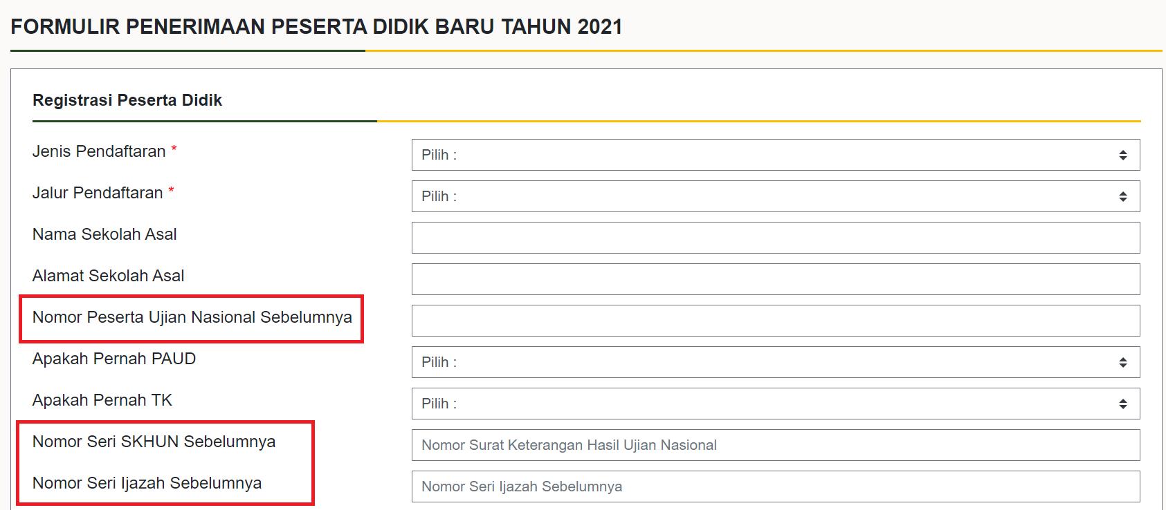 Mengisi Formulir Pendaftaran Online Untuk Jalur Zonasi Afirmasi Dan Perpindahan Tugas Orang Tua Wali Smp Negeri 3 Cisauk